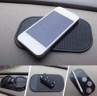 ingrosso tool gps-Cruscotto antiscivolo per auto Cruscotto appiccicoso PU Magico antiscivolo Supporto per cellulare GPS GPS Nero Utile Home Strumento AAA185