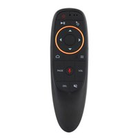 luft maus mikrofon großhandel-Desxz 2,4 GHz Wireless Fly Air Maus Sprachsteuerung Für Gyro Sensing Spiel Mikrofon Fernbedienung Für Smart TV, Android Box PC
