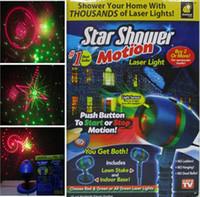 Wholesale sky spotlights - Outdoor Laser Projector Sky Star Spotlight Showers Landscape DJ Disco Lights Garden Lawn Christmas party
