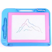 Wholesale Magnetic Writing Board Toy - Children Kids Magnetic Magic Drawing Writing Panting Board pad flat education learning Toys