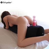 almohadas de juguete sexual al por mayor-Al aire libre Herramientas Inflables Sex Pillow Outdoor Sports pad Soporta Almohada Cojín Erótico Sexo Sofá Juguete Sexual Para Parejas de Seguridad Durable