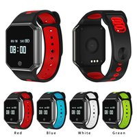 Wholesale Blood Metal - Smart Bracelet QW11 Smart Watch Metal Fashion Wristband Support Blood Pressure Heart Rate Monitoring Detachable Watch Smart Devices
