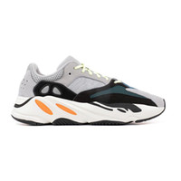 Wholesale fishing for sale - 700 Wave Runner B75571 2018 Best Quality Kanye West Calabasas Running Shoes Men Sports Women Shoes Fashion Sneaker With Box For Sale
