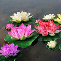 ingrosso semi di piante di loto-5pcs colori della miscela e bei semi di loto semi di bonsai rari del fiore per il giardino fai da te piante di ninfea fiori arcobaleno pianta fai da te