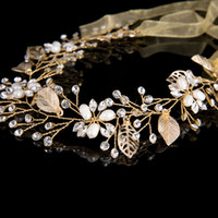 Wholesale bridal jewelry head pieces for sale - Group buy Handmade Wedding Hair Accessories Bridal Hair Vine Wedding Headband crystal tiaras crowns Head Piece Bridesmaid hair decoration