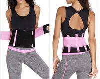 Wholesale tummy sweat belt - 2018 Sweat Belt Tummy Control Underwear Slimming Belt Shaper Body Shaper Hot Waist Trainer Corset Weight Loss Belt