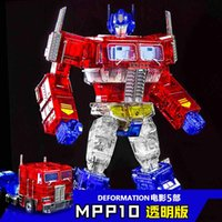 ingrosso g1 giocattolo-Weijiang MPP10 dark diamond film V 5 Skyreach pilastro deformazione deformazione del giorno robot giocattolo Trasformazione giocattolo cicatrici G1 MPP10