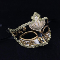 Wholesale elegant party supply wedding props for sale - Group buy Halloween New Elegant Venetian Masks Multi Color Half Face Masquerade Party Supplies Halloween for Women Wedding Cosplay Props