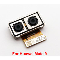 botones de manzana verde al por mayor-Nuevo probado para Huawei P9 Plus P10 P6 P7 P8 Honor 8 9 10 5X Mate 9 Parte posterior Parte posterior Gran módulo de la cámara Cable flexible Reemplazo de la cinta Piezas de repuesto