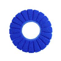 ingrosso coperte di sedili igienici caldi-Comodo cuscino in velluto Coral Coprisedile standard Cuscino modello zucca multicolore caldo
