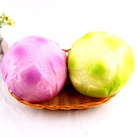 Wholesale Foam Houses - Pineapple Bread Squishy Super Slow Rising Toys Squishies Color Breads Children Play House Toy Arts And Crafts Gift 18sq CR
