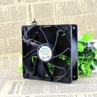 şiddetli fan toptan satış-Nidec 12038 12v1.85A için Şiddetli Fan V12E12BS1B5-07 pwm Sıcaklık Kontrolü 44E4863