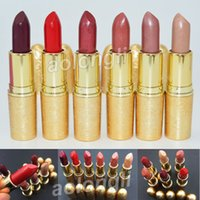 Wholesale Full Size Warmer - Makeup M lips Snow ball Holiday Lipstick Elle Belle Rouge En Snow Shimmer Glistening Holiday Crush Warm Ice 6 colors Glitter Lip gloss DHL