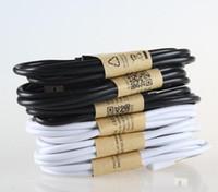 handy-ladegerät für v8 großhandel-1m / 3.3 ft handy usb ladekabel mit v8 micro datenkabel für htc samsung s6 s7 rand