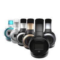 rádio lcd display venda por atacado-Zealot b19 display lcd hifi baixo sem fio bluetooth fone de ouvido para iphone 7 samung xiaomi fone de ouvido com fm rádio micro-sd slot