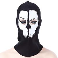 máscara de latas venda por atacado-Acampamento ao ar livre Caminhadas Crânio Padrão Ciclismo Windproof Dustproof Mask Anti-poeira e à prova de vento, pode protegê-lo do frio e poeira