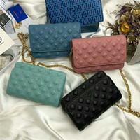 bolsas de hombro a cuadros al por mayor-Bolsos de marca bolso de hombro de diseñador de lujo Alta calidad Últimas señoras bolso de hombro de cadena Cruz bolso de cuerpo compras libres