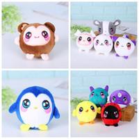 Wholesale plush penguin toys for sale - 9cm Penguin Unicorn Whale Squishy Slow Rising Foamed Stuffed Plush Doll Kids Squishamals Xmas Toys Novelty Items CCA10476