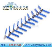 2018 New KLOM 10pcs Padlock Shim Picks Aircraft Folder Set Padlock Pick Locksmith Tools Lock Pick Set Unlock Lockpick Free Shipping
