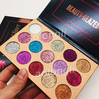 Wholesale Best Beauty Glazed Glitter Eyeshadow Palette Colors Eye Shadow Palette Makeup Ultra Shimmer Face Cosmetics
