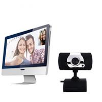 camcorder web-kamera großhandel-Mode HD Webcam USB 2.0 Computer Web Kamera A847 eingebautes Mikrofon für PC Laptop Camcorder