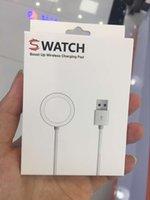 зарядные кабели для запястья фитбит оптовых-Зарядное устройство USB для Fitbit Smart Watch Браслет Браслет Запасное зарядное устройство Шнур Магнитный кабель для зарядки 1м 2м с пакетом