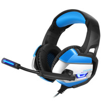 Wholesale best computer brands for sale - ONIKUMA K5 Best Gaming Headset Gamer casque Deep Bass Gaming Headphones for Computer PC PS4 Laptop Notebook with Microphone LED