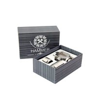 elektronik sigara boru modu toptan satış-Çekiç E Boru Mod Mekanik E-Boru ECigarette Paslanmaz Çelik E-boru Elektronik Sigaralar