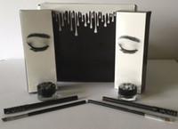 фирменные гелевые вкладыши оптовых-Гель для бровей Liner Kit BRAND NEW Jenner Kliner в цвете BRONZE / CHAMELEON с подводкой для глаз Кисточка для гелевых горшков (1 комплект = 1 подводка для глаз + 1 кисточка + 1 крем)