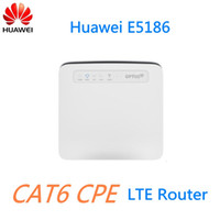 Wholesale Huawei Wi Fi - Unlock 300M 4G LTE CPE CAT6 Router Huawei E5186-61A