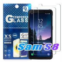 Wholesale iphone 5.5 screen protector anti glare for sale - Group buy For NEW Iphone XR XS MAX PLUS X Samsung S9 S8 LG Aristo V3 s plus Tempered glass Screen Protector for Iphone LG V20 Paper Package