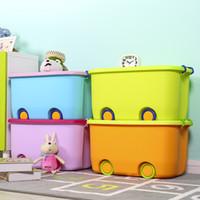 libros grandes al por mayor-Extra grande Polea Juguetes para niños Acabado Dibujos animados Plástico Conveniente Volumen de negocios Almacenamiento Bocadillos Libros Caja de almacenamiento de herramientas