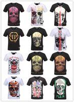 Wholesale Tshirts Slim Sleeve Mens - 2018 New Robin Jeans Shirts for Men Robin T shirt Mens Short Sleeve Slim Fit Shirts Robins Tshirts Plus Size mens clothing M-3XL
