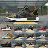 Wholesale Flooring Borders - 2018 New Original NMD_XR1 PK Running Shoes Cheap R1 NMD XR1 Runner japan Primeknit OG PK Human Race Black White Men Women Sneakers