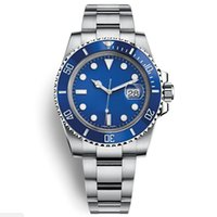 Wholesale blue ceramic dial for sale - Group buy Watch Top New Blue Dial Watch Ceramic Bezel Mens Automatic Watch Sports Self wind Watches LB Wristwatch Montre orologio di lusso