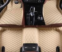 6 Colors Leather Car Floor Mats for Chevrolet Malibu 2016-2018 Waterproof Carpet