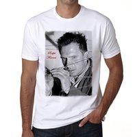 t-shirts ralph großhandel-T-Shirt der Männer neuer Art- und Weisebeiläufiger Baumwolle Kurzhülse lustiger Ralph Fiennes T-Shirt Herren-T-Shirt 2018 Qualität beiläufige kurze Hülse