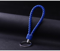 Wholesale golf key fob for sale - Group buy Car Key Chain For Motorcycles Scooters and Cars Key Fobs Leather Rope Car Key Chain Men and Women Small Gifts