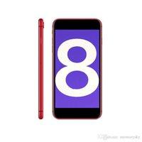 bluetooth для andriod оптовых-Телефон Andriod 8 плюс 1 ГБ оперативной памяти 4 ГБ ПЗУ MTK6580 QuadCore 5-мегапиксельная камера 5,5-дюймовый 3G WCDMA Andriod OS Герметичная коробка Поддельные 4G отображается