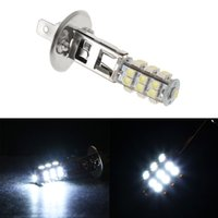 Wholesale Pure Headlight Bulbs - 1Pcs Car H1 HID 25 SMD Headlight Lamp Bulb Fog Xenon Pure White Bright 6000K 12V High Quality Wholesale
