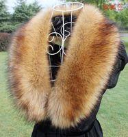 Wholesale Fashion Fur Stole - 2018 New Desinger Winter Fashion Luxury Faux Fur Collar Scarf Warm Warmer Shawl Wrap Stole beautiful and luxury design