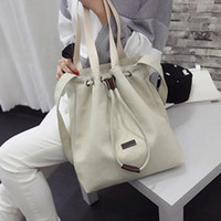 Wholesale Bucket S - New Arrival Fashion Women\'s Canvas Handbag Messenger Top-Handle Bags High Quality Shoulder Bag