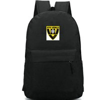 Wholesale backpack professional for sale - Group buy VVV Venlo backpack Professional football daypack Fans team school bag Soccer club schoolbag Outdoor rucksack Sport day pack