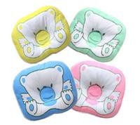 милые подушки для девочек оптовых-Lovely Baby Bedding Cute Animals Print Oval Baby Pillows Boys Girls Pillows Soft Infant Toddler