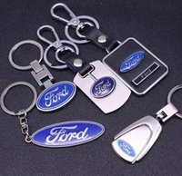 ford key rings 2018 - 3D Metal Car Key Ring Fashion Brand Auto Emblem Keychain for Ford Car Accessories Key Chain New Car Buyers Gift