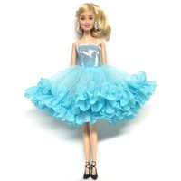 Wholesale beautiful toys for girls for sale - NK Newest Doll Dress Beautiful Multi layer Dress Top Fashion Party Outfit For Barbie Doll For BJD Dolls Accessories