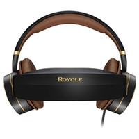 sanal kulaklık toptan satış-Royole Ay Hepsi Bir 2 GB / 32 GB 3D VR Kulaklık HIFI Kulaklık Sürükleyici Sanal Gerçeklik gözlükleri 3D Sanal Mobil Tiyatro