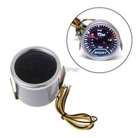 Atacado-2 '' 52mm Car Universal LED Pointer Bar Turbo Boost Gauge Vacuum Press Meter Set Novo Drop shipping