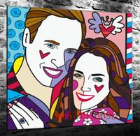gente de impresión de lienzo al por mayor-People In Love, Canvas Pieces Home Decor HD Impreso Arte Moderno Pintura sobre Lienzo (Sin Marco / Enmarcado)