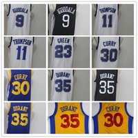Wholesale draymond green - 35 Kevin Durant 30 Stephen Curry 9 Andre Iguodala 11 Klay Thompson 23 Draymond Green Mens Basketball Jerseys Men Sport Jersey Size S-XXL